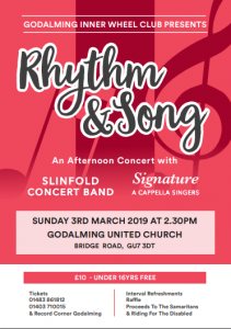 Rhythm and song flyer